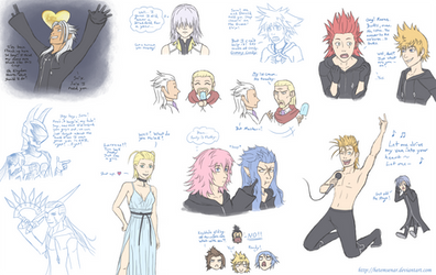 KH Comic Doodles by HetemSenar