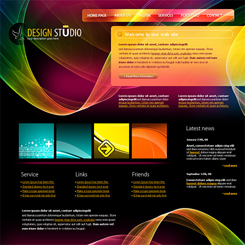 Online free website templates by webguru16 on deviantart for Free online drawing websites