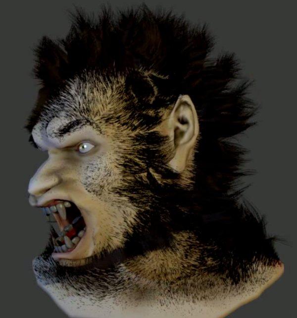 Werewolf transformation by sournote103 -- Fur Affinity ...  Werewolf Transformation Animation