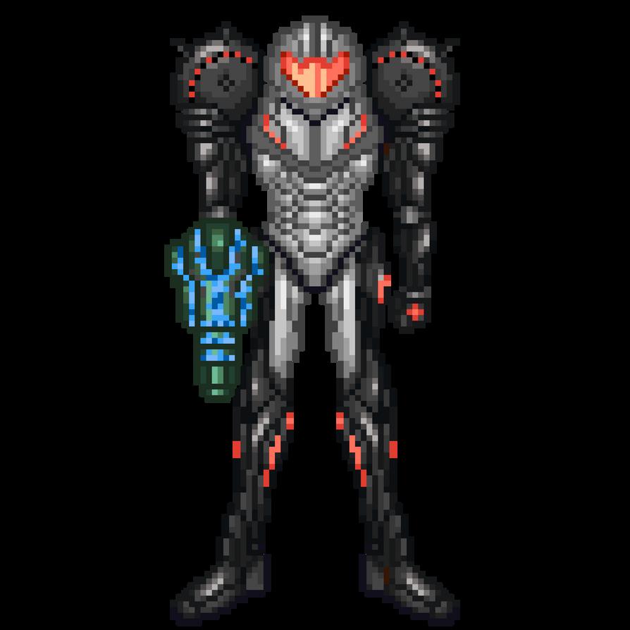 Samus Aran Phazon Suit by DoomerCZ