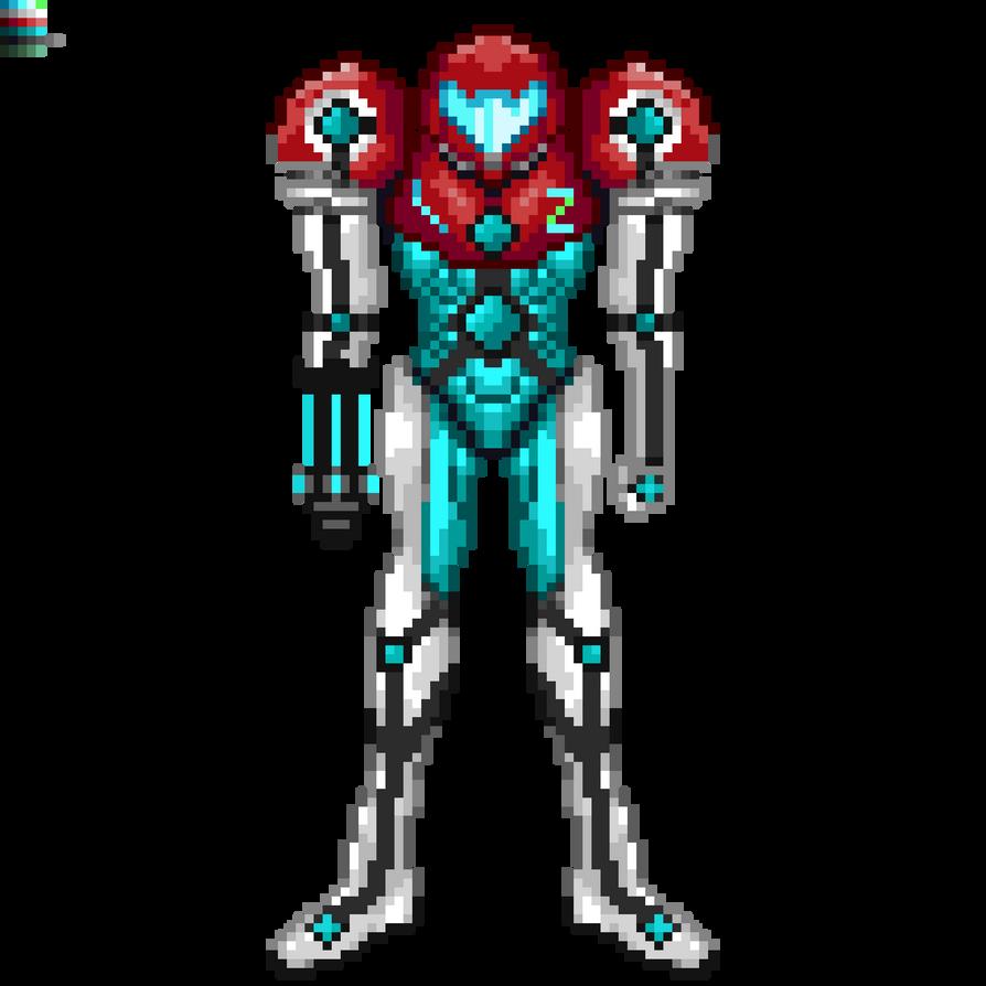Zeta Suit Samus by DoomerCZ