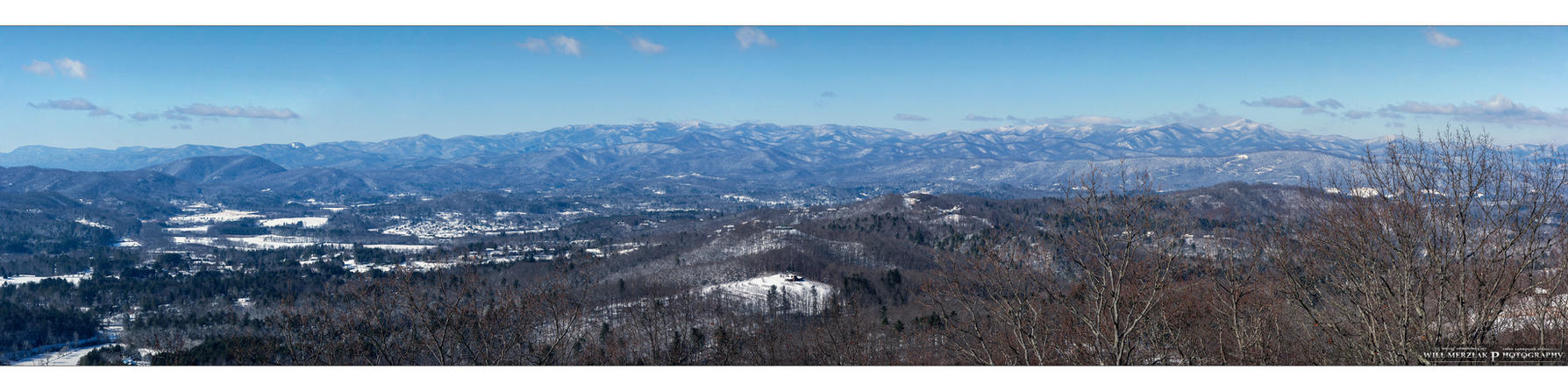 White Smoky Mountains by MRBee30