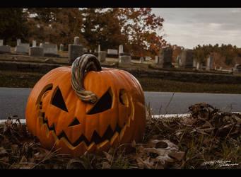 Jack o'lantern by MRBee30