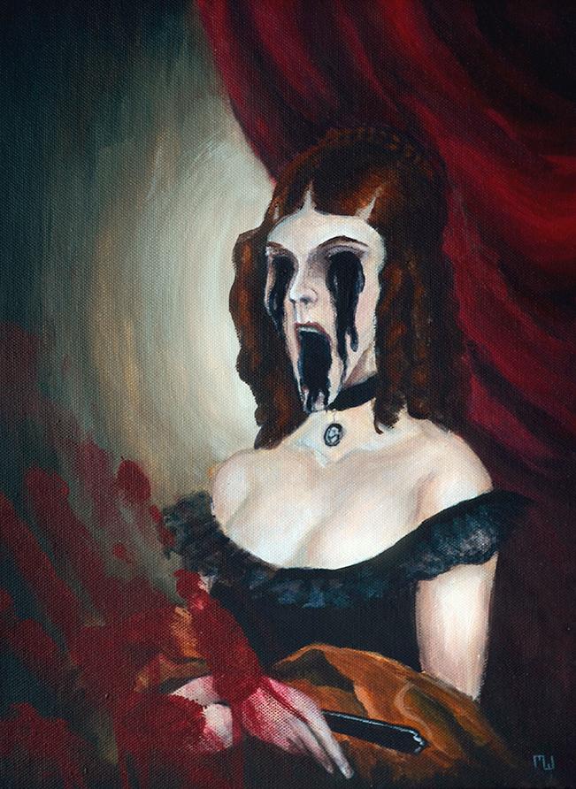 Horror Portrait by ichabod1799