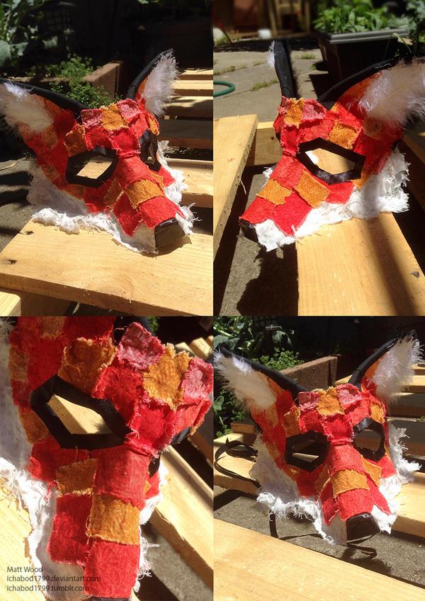 Fox Masquerade Mask by ichabod1799