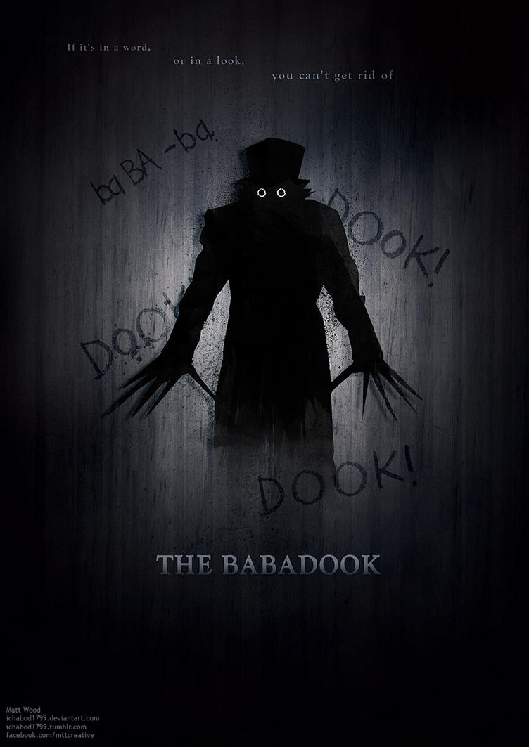 Poster design deviantart - Babadook Poster Design A By Ichabod1799