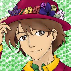 Flowerboy~ by little-colourBlob