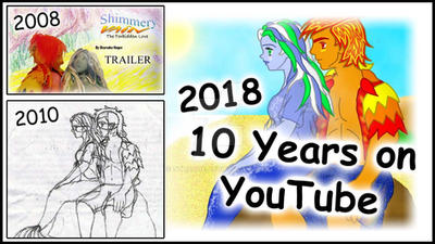 10 Years on YouTube tumbnail by sthaque