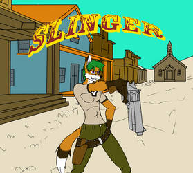Promo Art For Slinger by crazymew