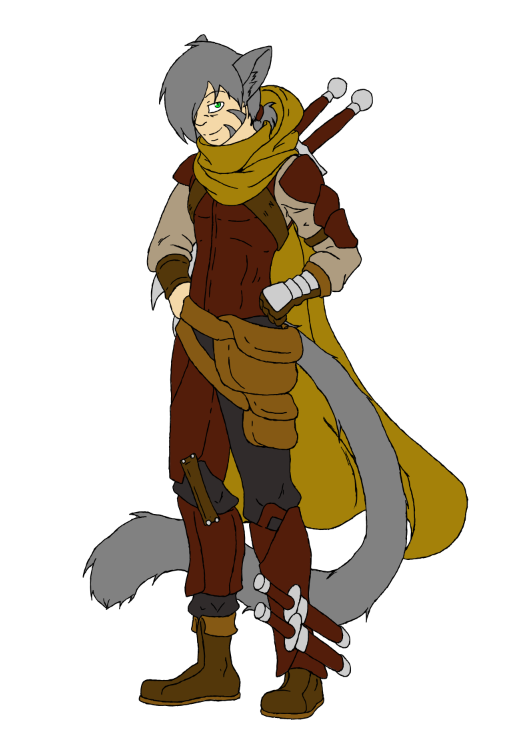 D&D Character by crazymew