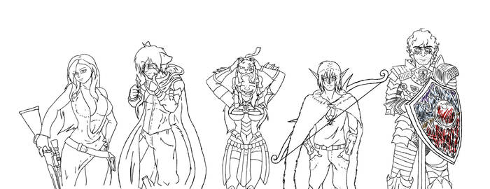 DND LineUp WIP
