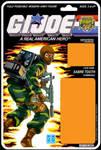 G.I. JOE Tiger Force Sabre Tooth cardback