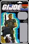 G.I. JOE Night Force Outback card