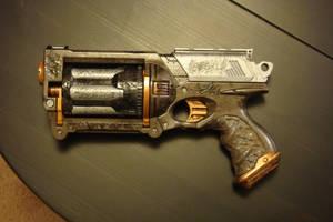 Steampunk gun by Shizuma-H