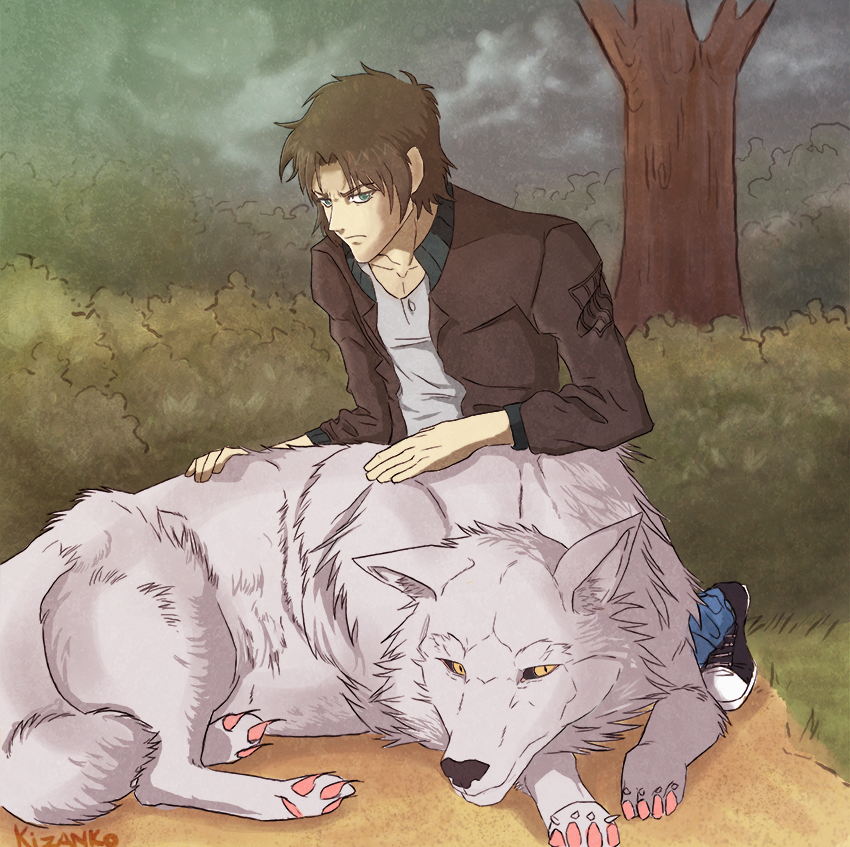 Wolf's Rain Kiba By Kizanko-dragon On DeviantArt