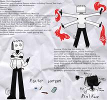 Vichi Reference Sheet (Persona OC) by Emptyproxy