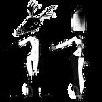 Monochrome object heads (CLOSED)