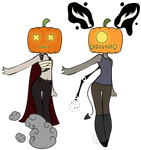 Pumpkin adopts (CLOSED) by Emptyproxy