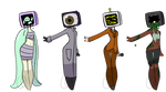 Tv head adopts (CLOSED) by Emptyproxy