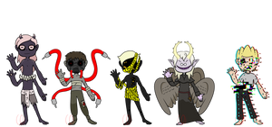 Monster Adopts (CLOSED) by Emptyproxy