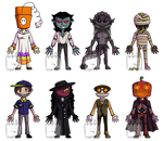 Halloween Adopts! (8/8 OPEN OTA) by Emptyproxy