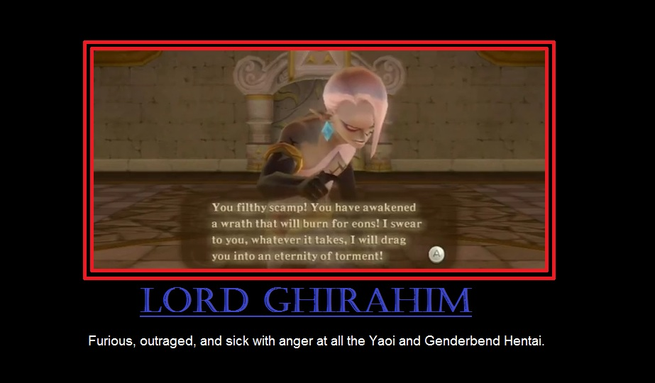 Displaying  18  Gallery Images For Ghirahim Screenshot