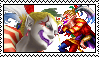 Kefka Stamp by Deidara-Clone