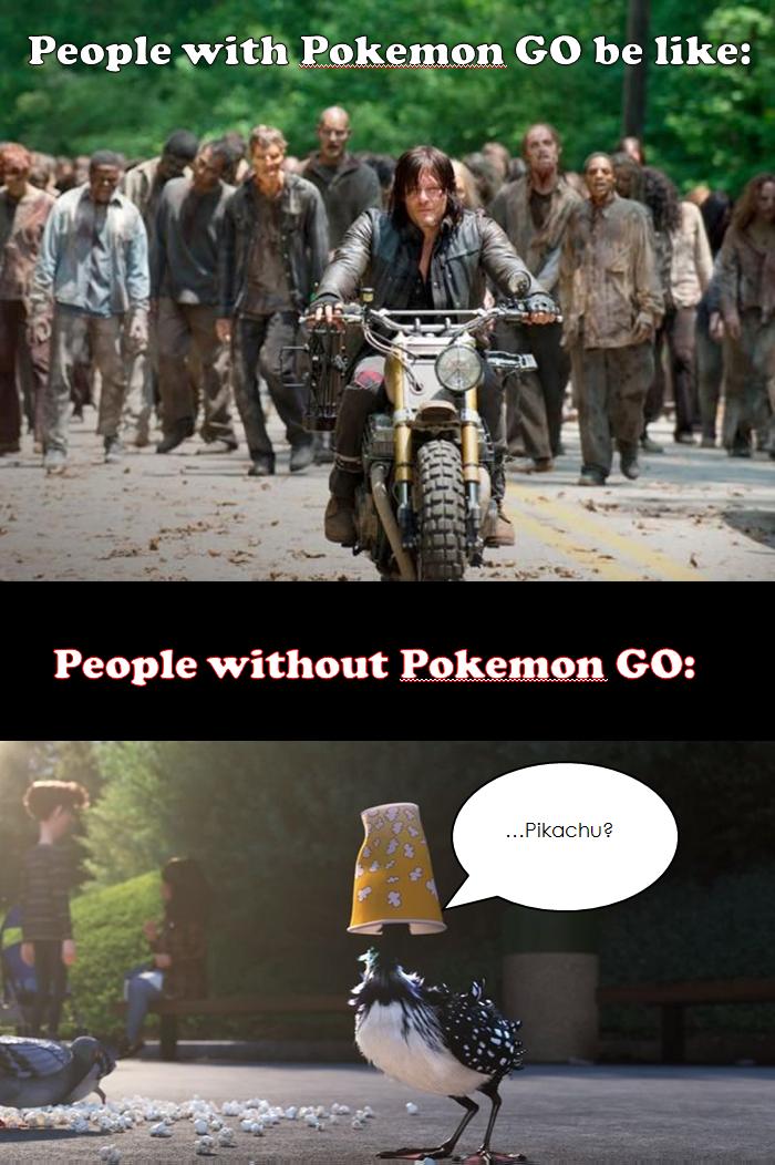 Pokemon Go Meme By Deidara Clone On Deviantart