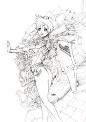 Mechanical nurse by elsevilla