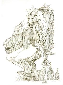 Quetzal girl
