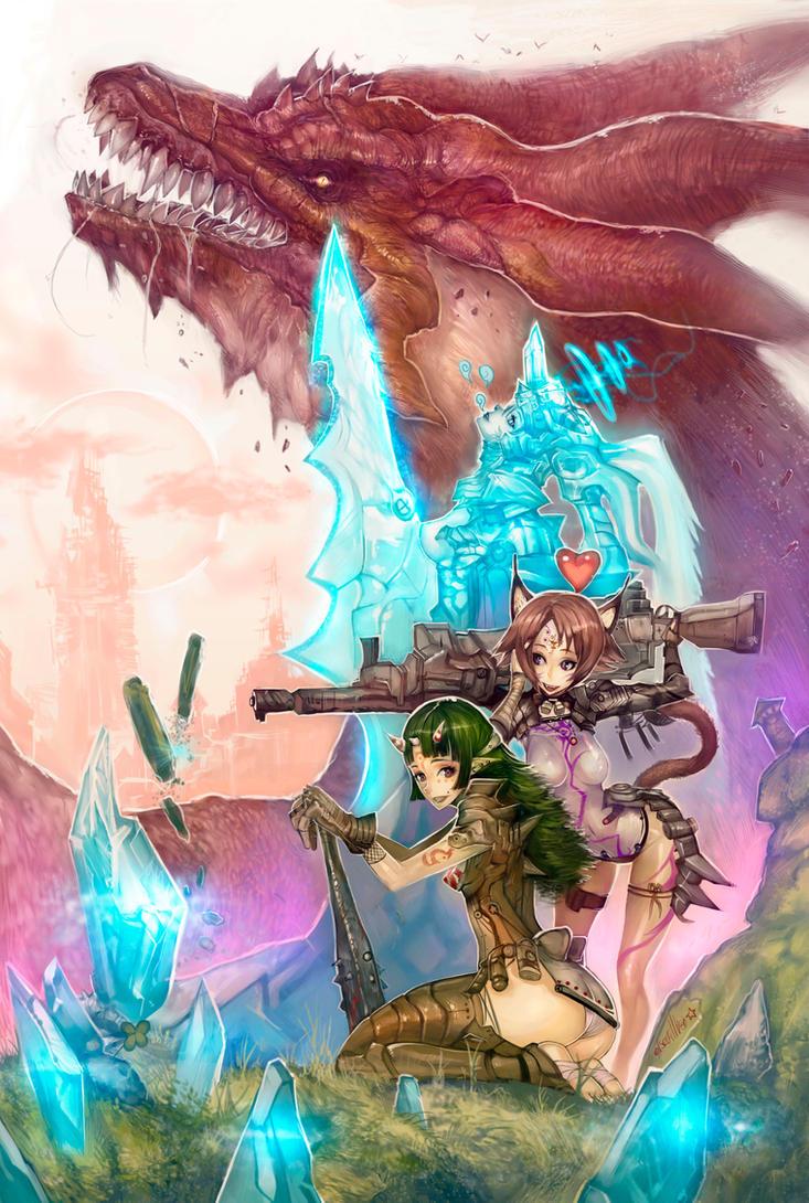 Dragon keeper by elsevilla