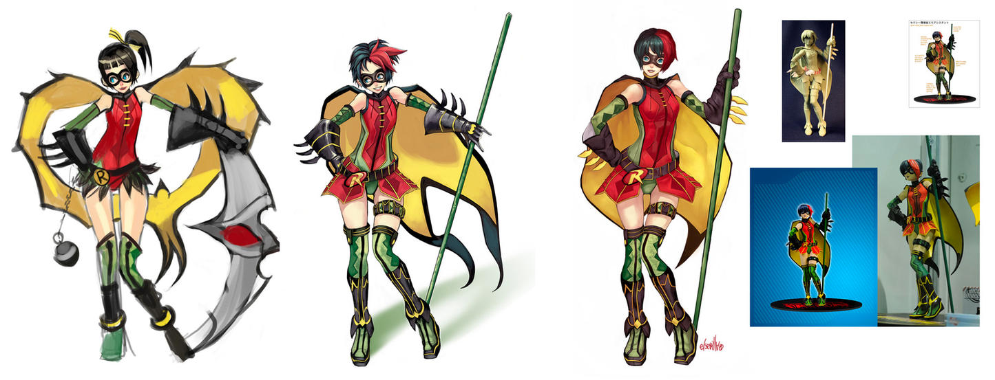 Robin chan PVC FIGURE by elsevilla