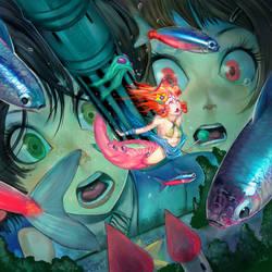 Mermaid Sashimi by elsevilla