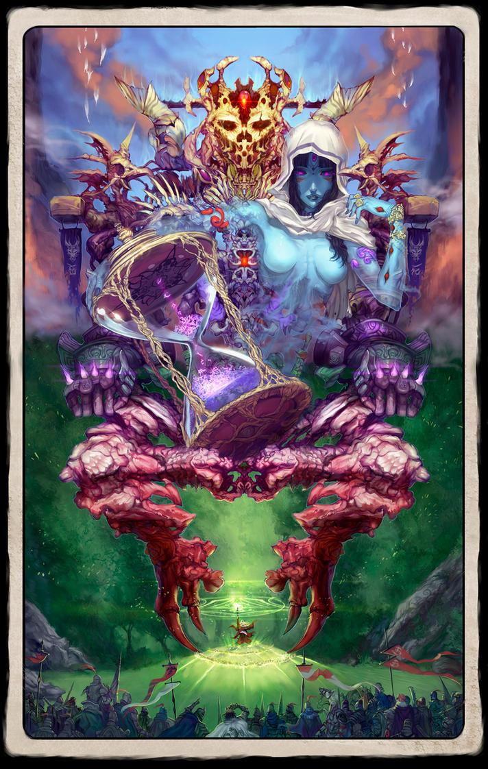 Eye of the Wizardry, true form by elsevilla
