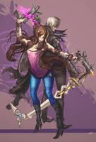 Shiva and Dyson by elsevilla