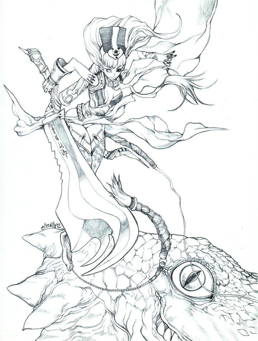 Dragon eye by elsevilla