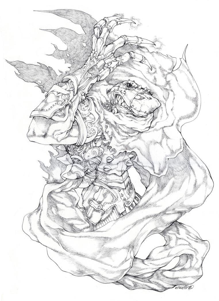 Enter the void sketch by elsevilla