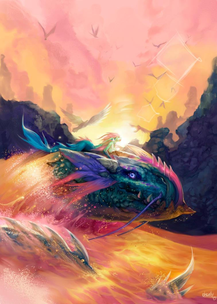 Leviathans ride by elsevilla
