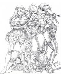Square sketch by elsevilla