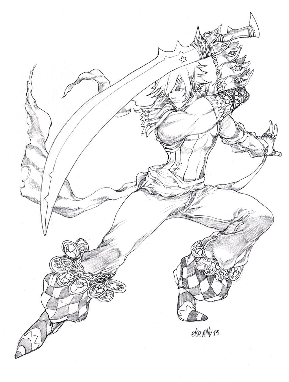 Sword Dancers by elsevilla