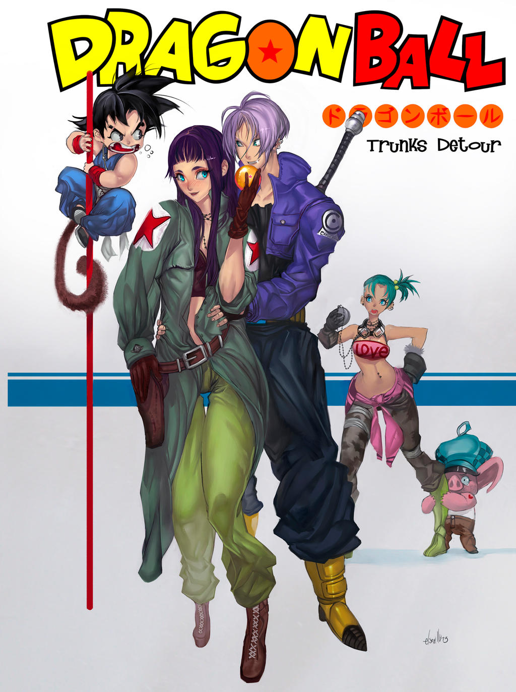 Trunks Detour by elsevilla
