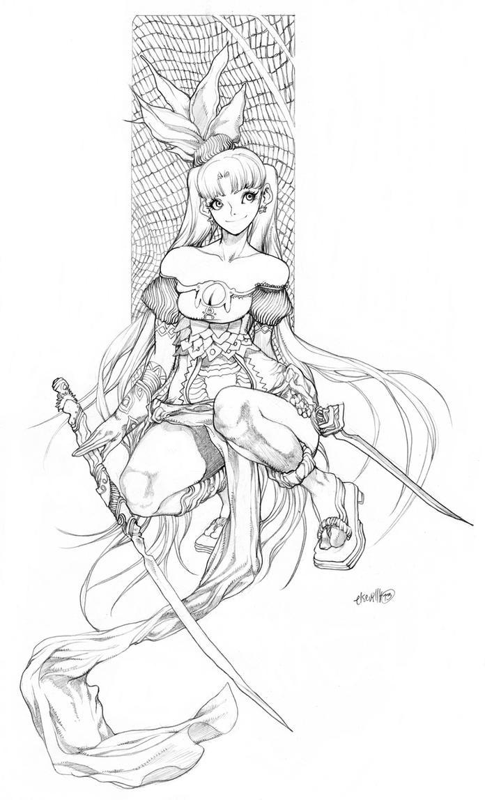 Unrustying Sketching again by elsevilla