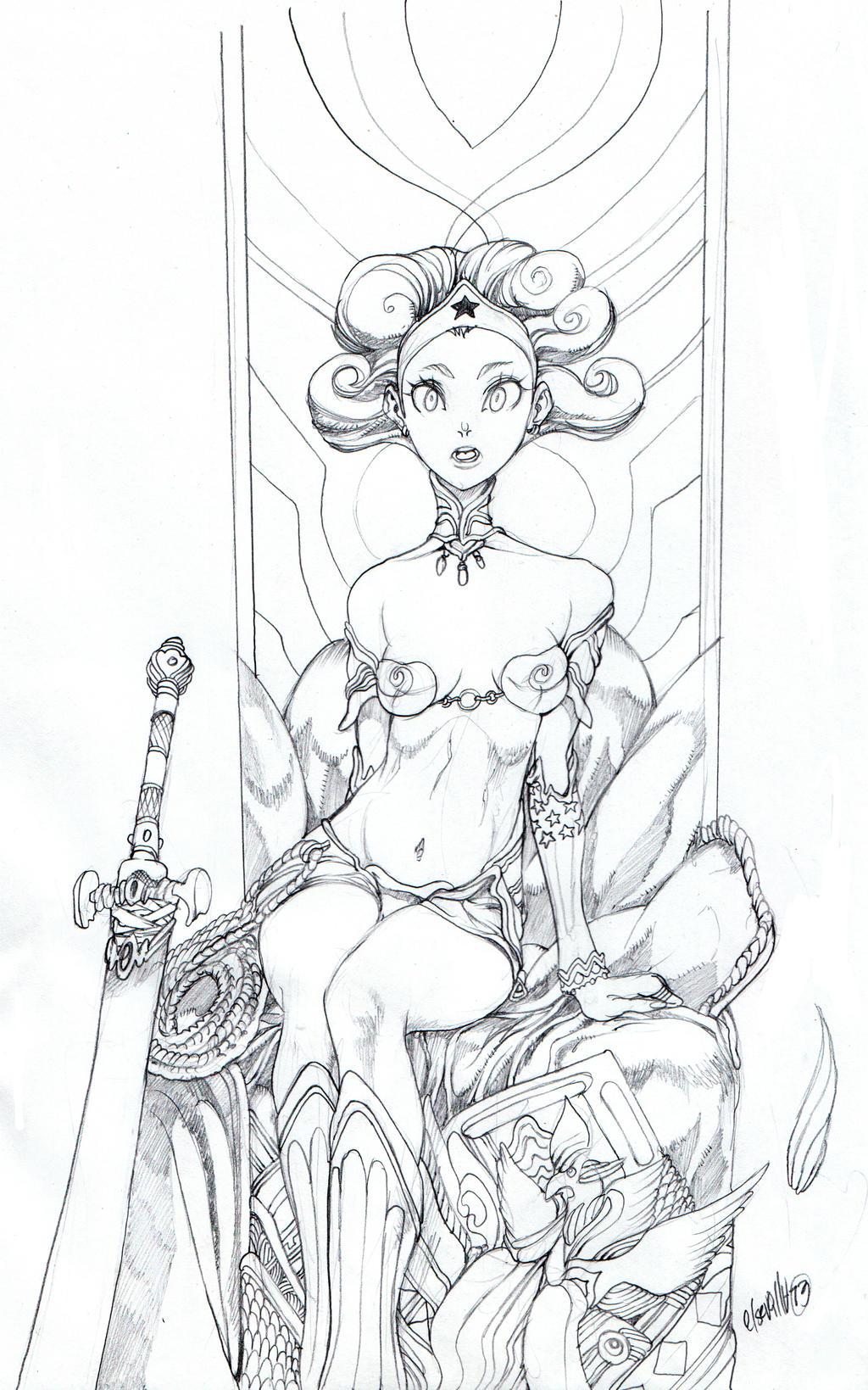 wonder sketch by elsevilla