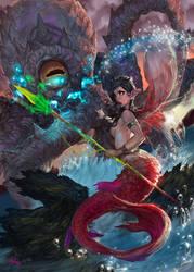 Sirena vuelve al mar by elsevilla