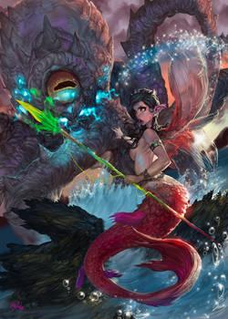 Sirena vuelve al mar