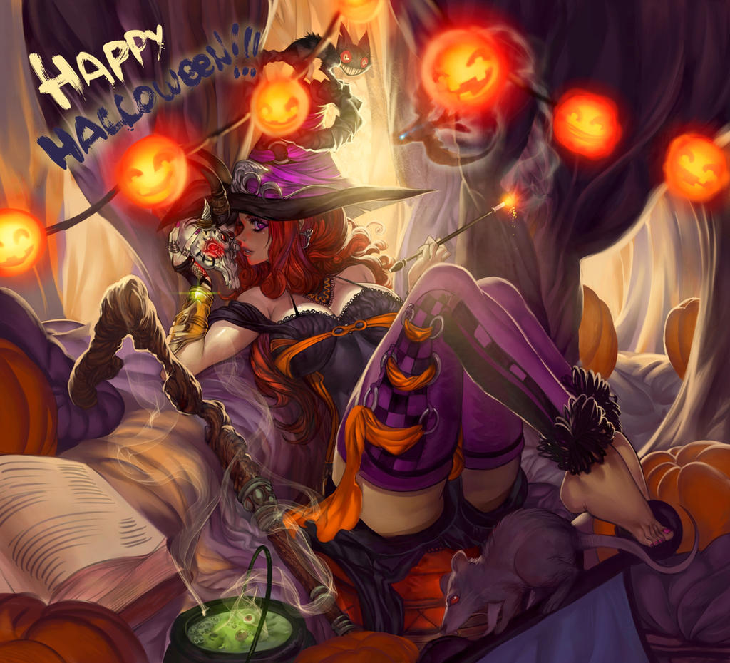 happy halloween 2014 by elsevilla