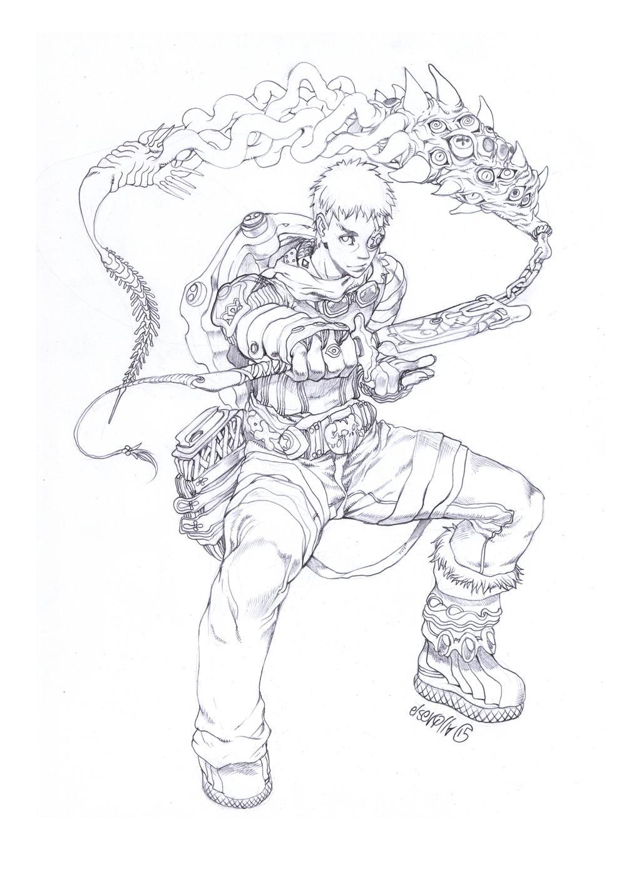 Jamil genie hunter by elsevilla