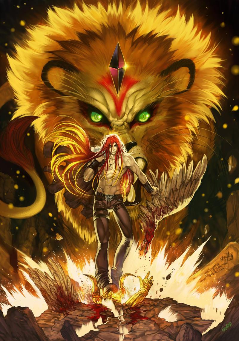 Lion soul by elsevilla