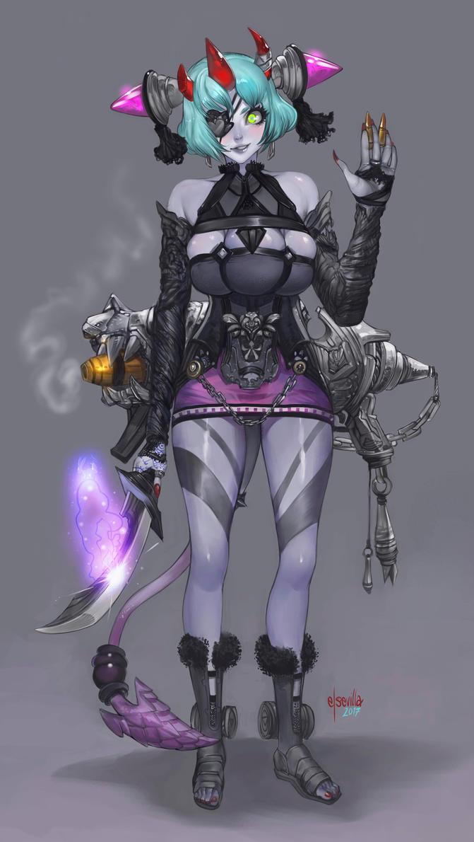 Trinity demon by elsevilla