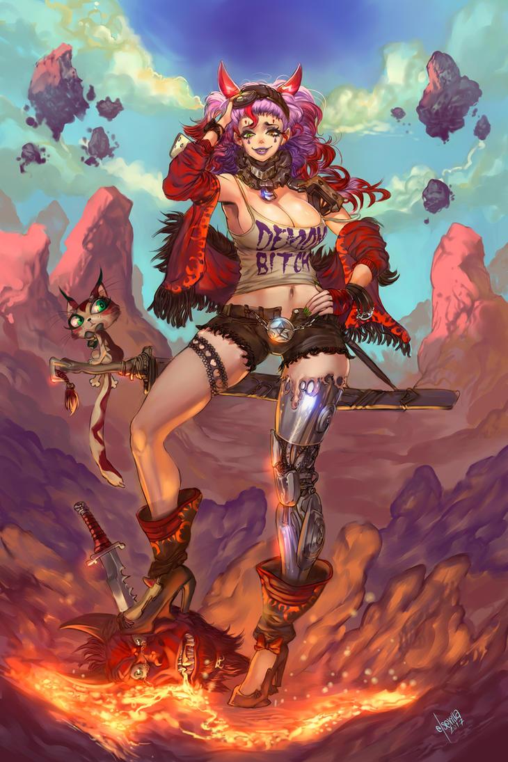 Devil Slayer by elsevilla